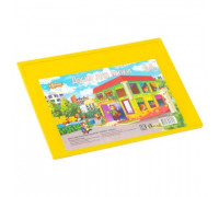 Доска для лепки А4,цвет,Подводный мир 351964