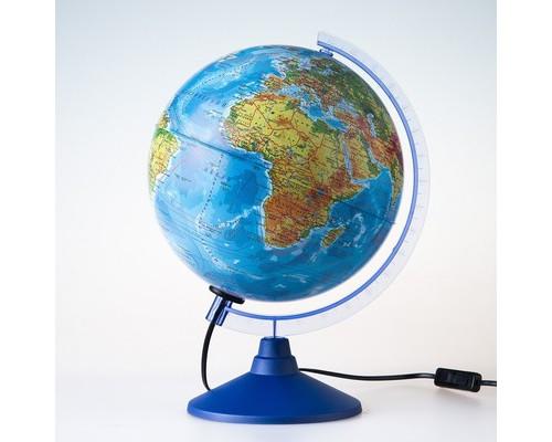 Глобус Физико-политический с подсветкой,250мм, Ке012500191