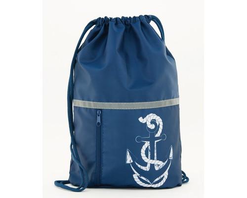 Мешок для обуви №1 School Морское путешествие 340*420 карм.светоот. МО-22-1