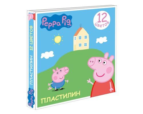 Пластилин Свинка Пеппа 12 цв. 29604