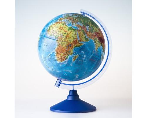 Глобус Земли физическийи,Классик,250мм