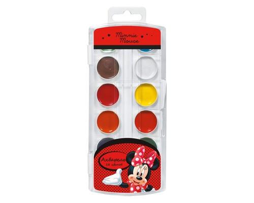 Краски акварельн. Disney Минни 18 цв 25353