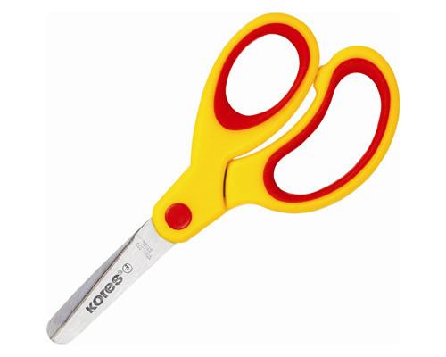 Ножницы 130мм с пласт.прорезин.анатом.ручками Kores Softgrip '35130
