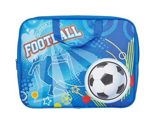 Папка для тетрадей №1 School Футбол ручки А4 ПМД 2-20