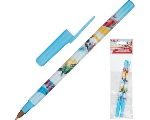 Ручка шариковая 2 шт синие Planes PLBB-US1-116-H2