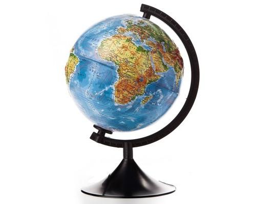 Глобус физический рельефный,210мм