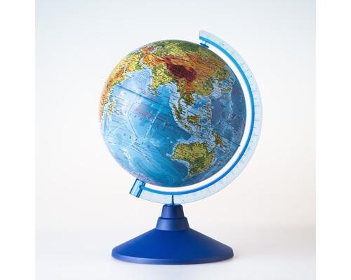 Глобус Земли физический,Классик,210мм