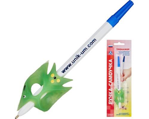 Ручка шариковая самоучка - тренажер для обучения правшей, АВ-4783