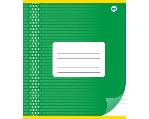 Тетрадь школьная А5, линейка 18л, обл.картон (орнамент) С 1020