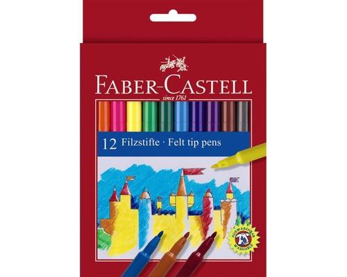 Фломастер Faber-Castell 12цв 554212