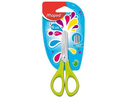 Ножницы START 12 см, симметричные, безопасные: закруг.лезвия, 463010