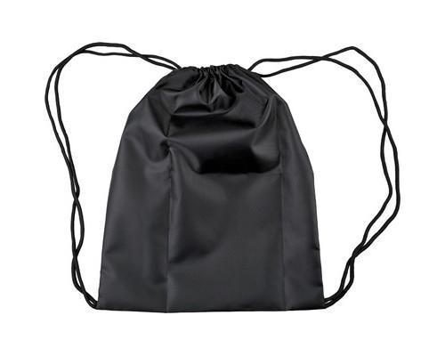 Мешок для обуви №1School,1отд,полиэстер,310х390,черный