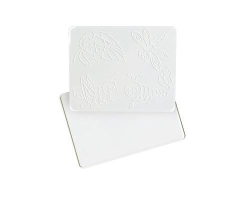 Доска для лепки доска 1,А5,с рельефным трафаретом
