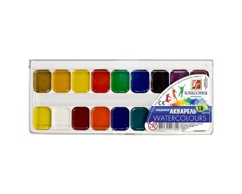 Краски Луч Классика 18цв б/кисти 19С 1292-08