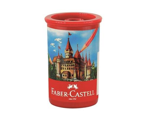 Точилка Faber-Castell Замок 1 отв. контейнер 581312
