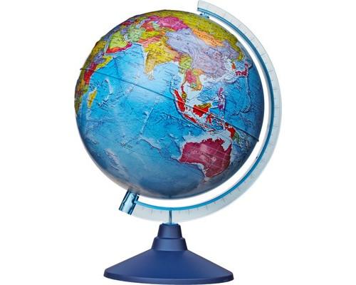 Глобус Земли политический,Классик,рельефный,250мм