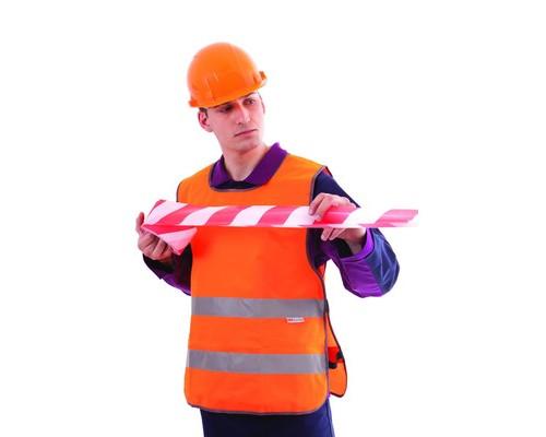 Спец.костюм Жилет сигнальный Тип5Т,цв.оранж.(р.ХХL-ХХXL/56-62)