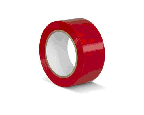 Лента для разметки ПВХ красный 50мм*33м (KMSR05033)