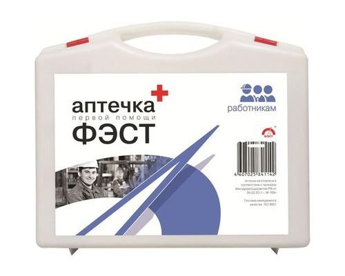 Средства первой помощи Аптечка первой помощи работникам ФЭСТ (приказ №169н) футляр большой