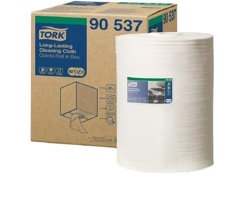 Нетканный материал Tork W1/W2/W3 300л*1рул/кор, белый 90537