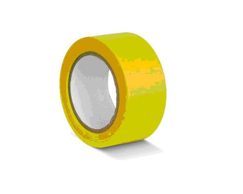 Лента для разметки ПВХ желтый 50мм*33м (KMSG05033)