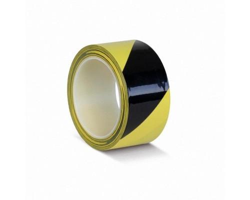 Лента для разметки ПВХ ОПП желт-черн,50мм*33м(KMLW050165)