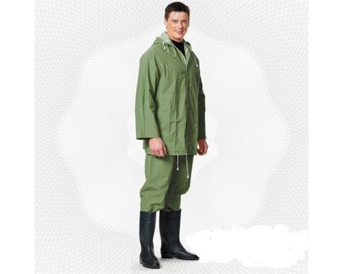 Спец.костюм Костюм влагозащитный ПВХ (куртка, брюки) зеленый XXXL