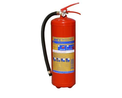 Огнетушитель порошковый ОП-5(з) МИГ Е (111-23)