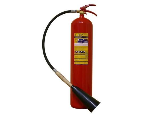 Огнетушитель углекислотный ОУ-5 ИНЕЙ ВСЕ (112-04)