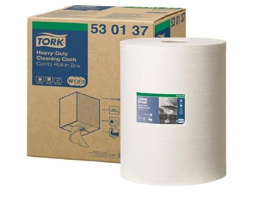 Нетканный материал Tork W1/W2/W3 280л*1рул/кор, белый 530137