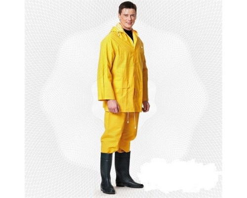 Спец.костюм Костюм влагозащитный ПВХ (куртка, брюки) желтый XL