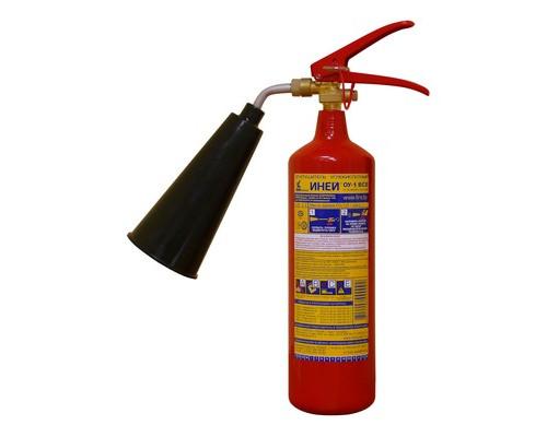 Огнетушитель углекислотный ОУ-1 ИНЕЙ ВСЕ (112-01)