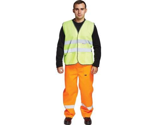 Спец.костюм Жилет сигнальный Тип2Т, цв.лимон.(р.ХL/52-54)