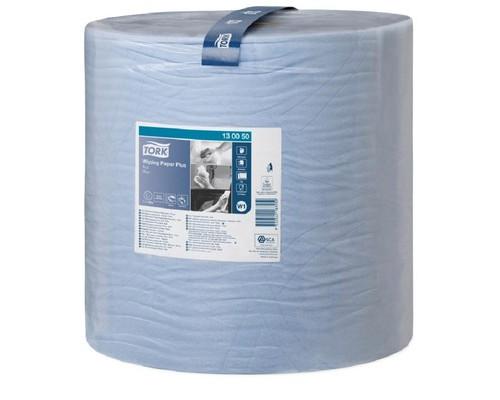 Полотенца бумажные Tork W1 2сл.1500*1рул/кор,голубой 130050