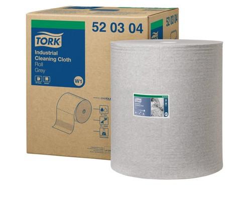 Нетканный материал Tork W1/W2/W3 950л*1рул/кор, серый 520304