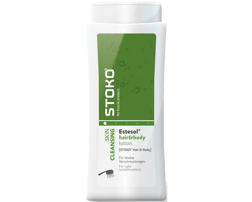 Средство защиты рук Гель очищающий Deb-Stoko Estesol Hair&Body, 250 мл