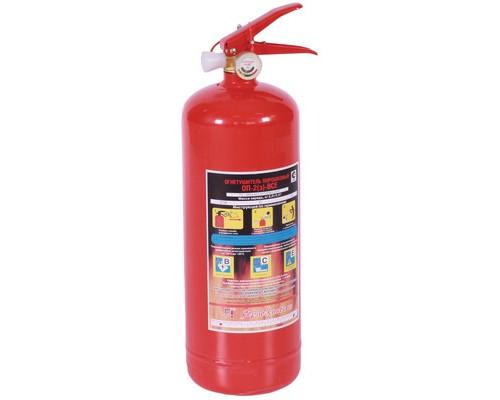Огнетушитель порошковый ОП-2(з) ВСЕ металл (упаковка 6шт)