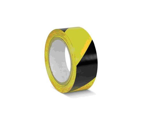 Лента для разметки ПВХ желто-черный 50мм*33м (KMSW05033)