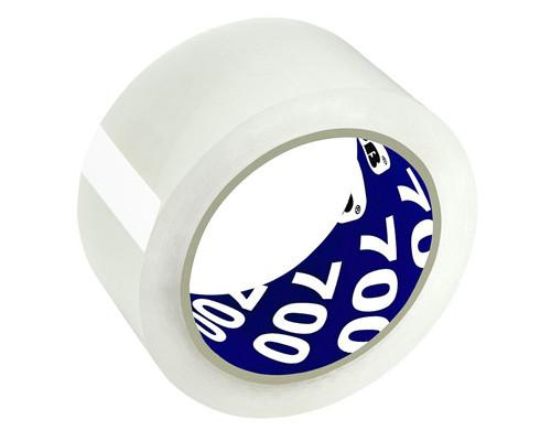 Клейкая лента упаковочная Unibob прозрачная 50 мм x 66 м плотность 47 мкм морозостойкая - (45994К)