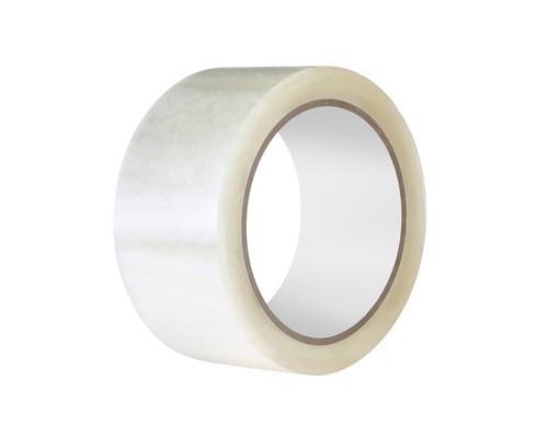 Клейкая лента упаковочная прозрачная 48 мм x 150 м плотность 50 мкм - (517304К)