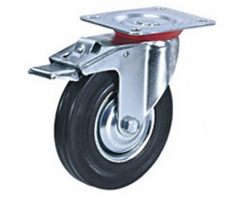 Колесо для тележки SCb 200 поворотное d200 мм - (372522К)