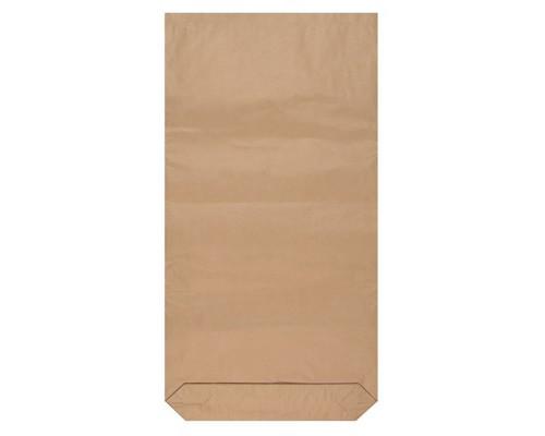 Бумажный крафт-мешок трехслойный 50x9x100 см с полиэтиленовым вкладышем - (558275К)