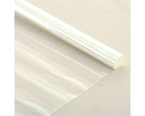 Пленка для цветов прозрачная 80 см x 10 м 10 рулонов в упаковке - (522038К)