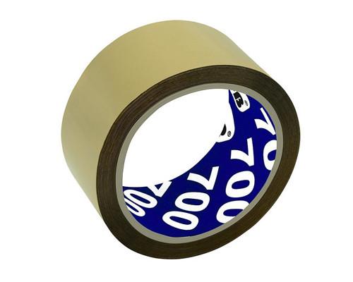 Клейкая лента упаковочная Unibob коричневая 50 мм x 66 м плотность 47 мкм морозостойкая - (45995К)