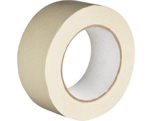 Клейкая лента малярная белая 48 мм х 50 м легко удаляемая - (351397К)