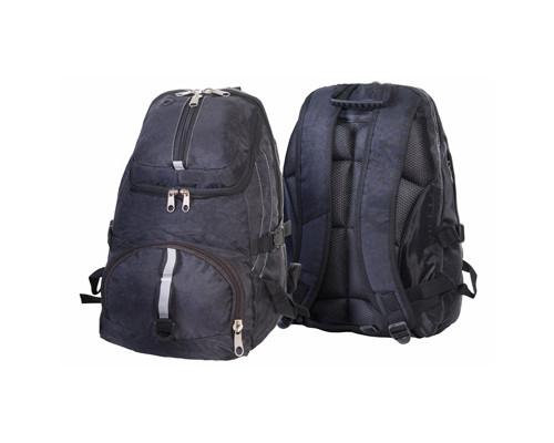 Рюкзак дорожный Attache 195-323 из полиэстра черного цвета 32.5 л - (206075К)