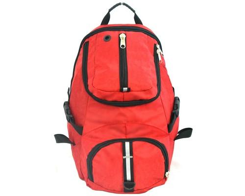 Рюкзак дорожный Attache 195-149 из полиэстра красного цвета 32.5 л - (206073К)