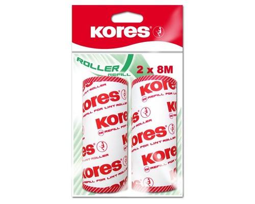 Запасной блок для чистящего ролика Kores 50 листов 2 штуки - (400951К)