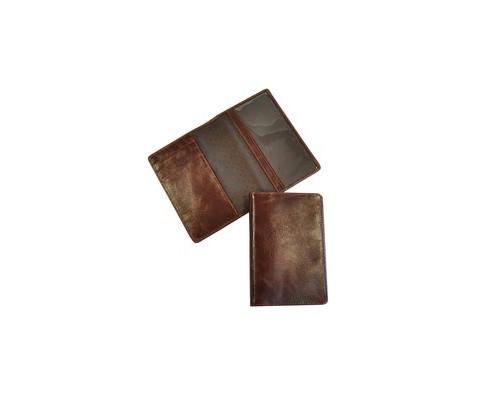 Обложка для паспорта Grand 02-005-0823 кожанная цвет темный коньяк - (466077К)