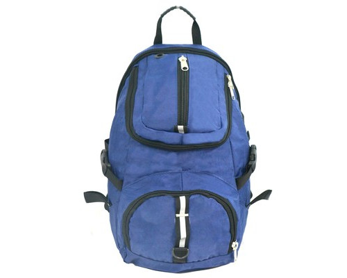 Рюкзак дорожный Attache 195-331 из полиэстра синего цвета 32.5 л - (206076К)